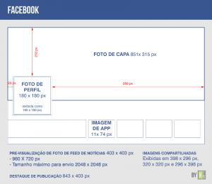 Tamanho - facebook