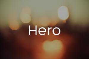 Fonte Hero