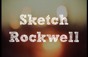Fonte Sketch Rockwell