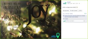 Exemplos de posts em social media: frases reflexivas ou versículos bíblicos