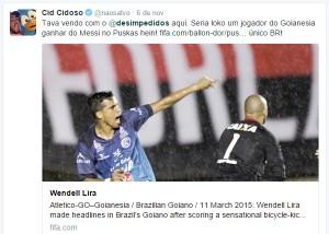 Desafio Puskas Blog Não Salvo - Wendell Lira