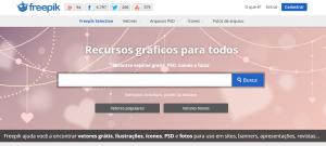 Site Freepik para baixar ícones grátis