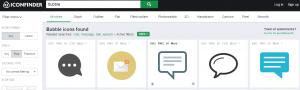 IconFinder: site para baixar ícones grátis