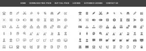 Webalys Nova: site para baixar ícones grátis