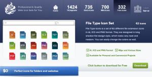 WebIconSet: site para baixar ícones grátis