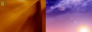 Modelos de motion backgrounds para projeção em cantatas de páscoa