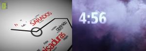Modelo de countdown e vídeo de abertura para cantata de páscoa