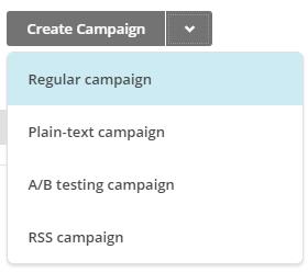 Criar campanha no Mailchimp