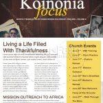 Modelo de email marketing para igrejas