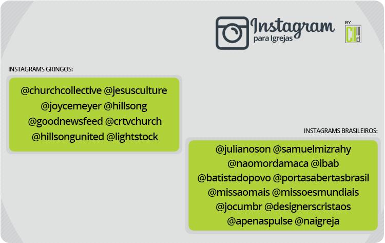 Melhores perfis cristãos nos Instagram para seguir